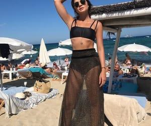 beach, summer, and moda image