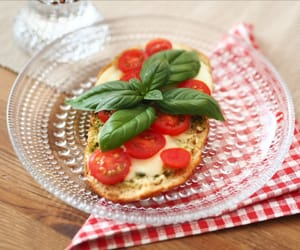 basil, bread, and breakfast image