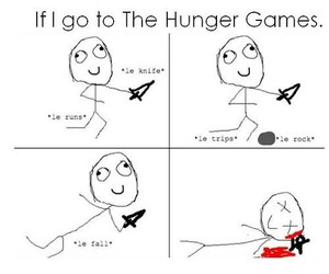 the hunger games, lol, and me image