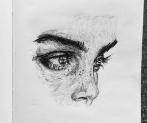 art, beautiful, and sketch image