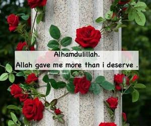 islam, muslim, and alhamdulillah image