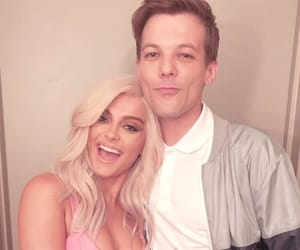 bebe rexha and louis tomlinson image
