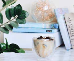 coffee, plant, and room image
