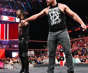 raw, wwe, and dean ambrose image