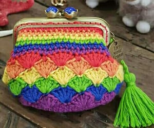 colores, crochet, and punto image