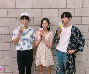 yeeun, jeno, and clc image