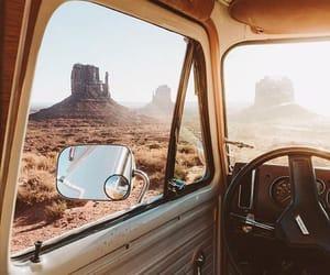 Image de travel, car, and desert