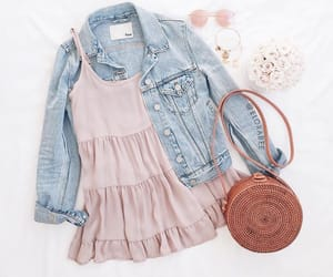 bag, outfit, and sunglasses image
