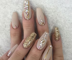 and, glitter, and golden image