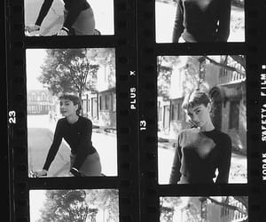 aesthetic, audrey hepburn, and black image