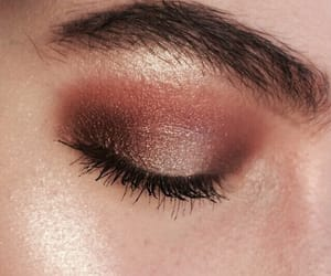 beauty, makeup, and eye image
