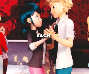 Adrien, chatnoir, and lovestory image
