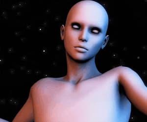 alien, colours, and creature image