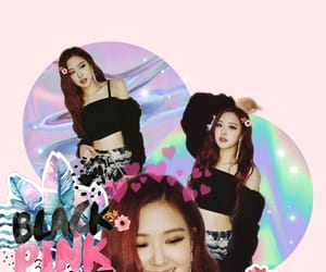 edit, blackpinkedit, and rose image