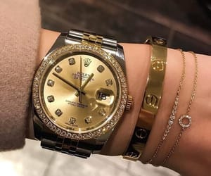 luxury, rolex, and bracelet image