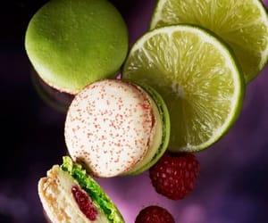 raspberry, lime, and macarons image