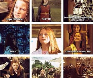 ginny, harry potter, and weasley image