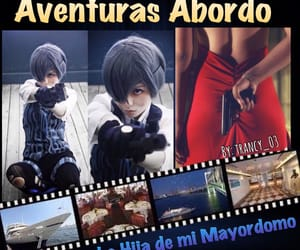 fanfic, ciel phantomhive, and cosplay image