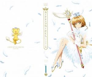 anime, kero, and magic girl image