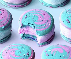 cookie, cream, and cotton candy image