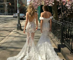 bff, bride, and city image