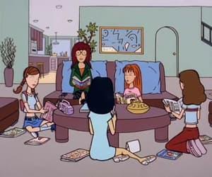90s, cartoon, and Daria image