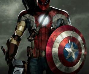 iron man, spiderman, and thor image