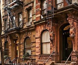 new york, city, and street image