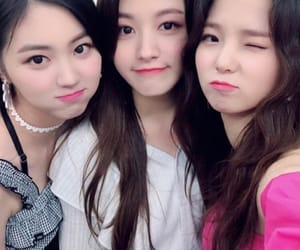 clc, seunghee, and eunbin image