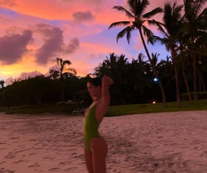 kendall jenner, sunset, and model image