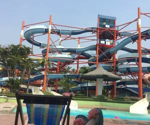 chill, waterpark, and cool image