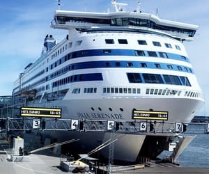 cruise, europe, and traveling image