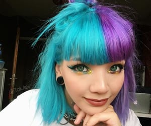 beautiful, color, and hair image