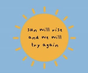 sun, yellow, and quotes image