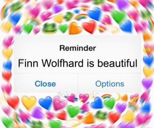 reaction pic, finn wolfhard, and strangerthings image