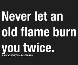 burn, flame, and quote image