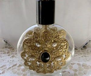etsy, vintage vanity, and perfume bottle image