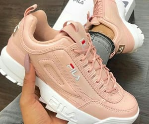 shoes, Fila, and fashion image