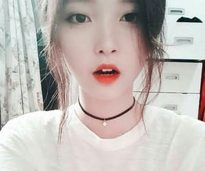 new, redlips, and cute image
