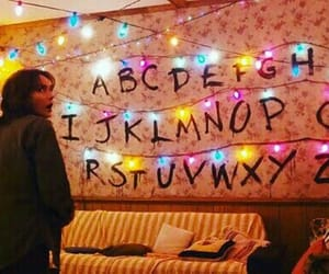 stranger things and lights image