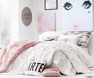 bed, potrait, and styles image