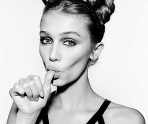 black and white, cailin russo, and model image