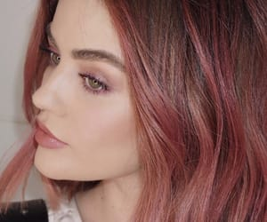 lucy hale, pink hair, and pretty little liars image