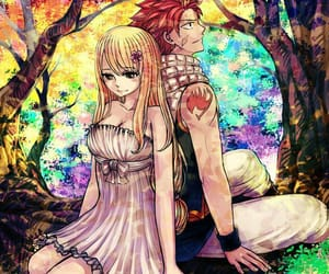 fairy tail, anime, and nalu image