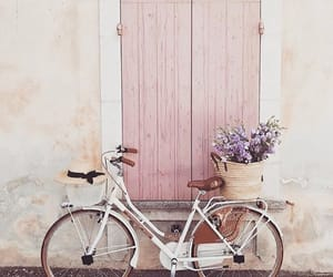 bike, bycicle, and door image