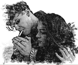 beautiful, couple, and girls image