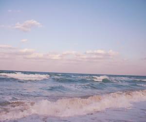 ocean, beach, and sea image