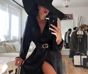 fashion, lady, and outfit image