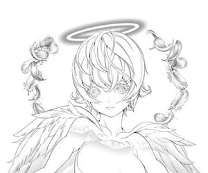 angel, platinium end, and manga image