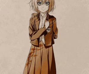 anime, aot, and historia reiss image